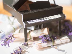 geldgeschenk klavier