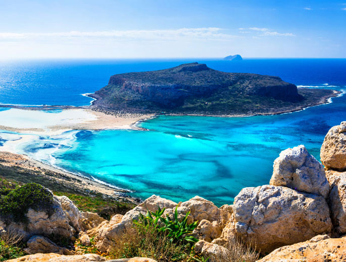 Laguna von Balos Kreta