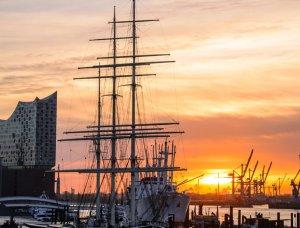 Hamburger Hafen Schiff
