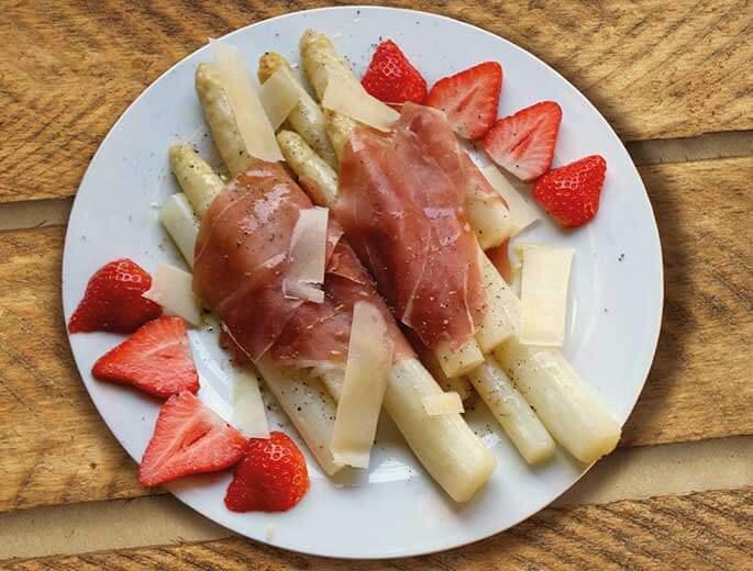 Parma-Spargel