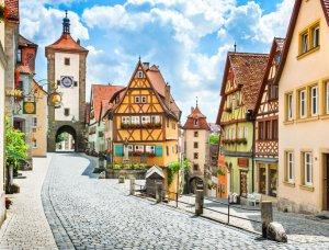 Altstadt Rothenburg ob der Tauber Bayern
