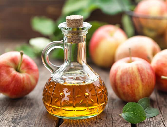 Apfelessig als Reinigungsmittel