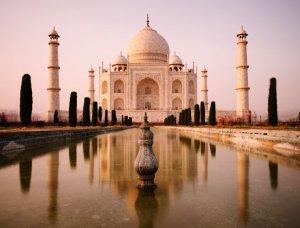 Die sieben Weltwunder Taj Mahal Indien