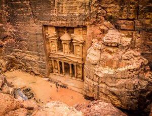 Die sieben Weltwunder Petra Jordanien