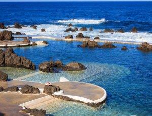 Madeira natürliche Pools