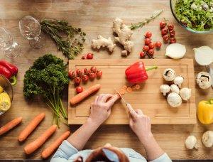 Gemüse schnibbeln