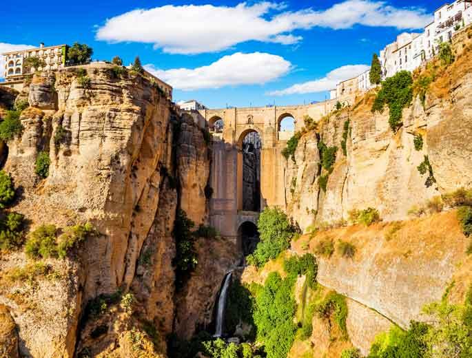 Ronda Andalusien Brücke