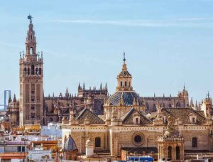 Sevilla Kathedrale Andalusien