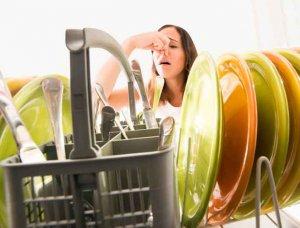 stinkende Geschirrmaschine