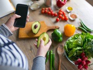 Rezept Anleitung Smartphone