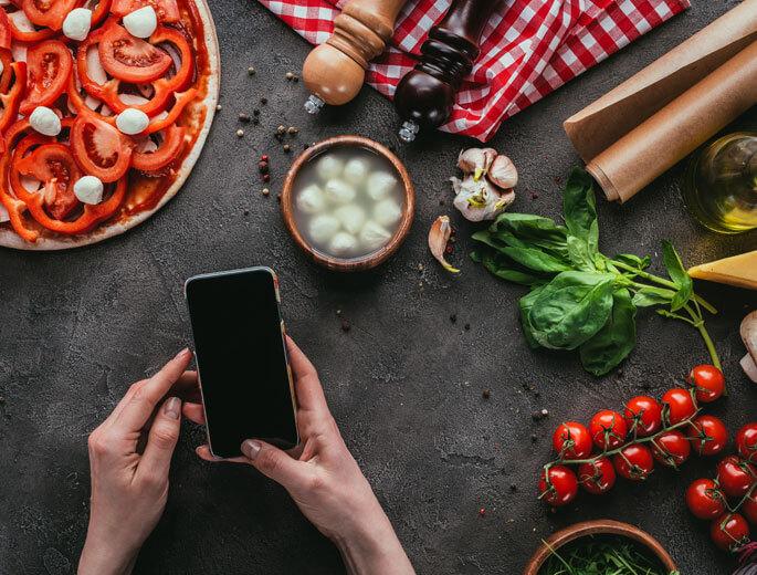 Smartphone Rezepte