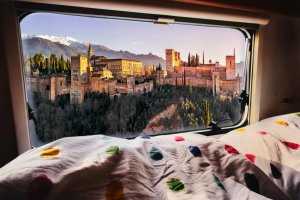Campingreise in Andalusien
