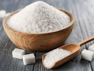Schale Zucker