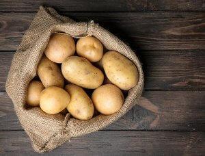Sack Kartoffeln